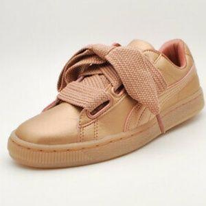 Puma Sneakers, Basket Heart Copper Wn's
